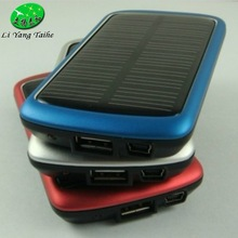 Hot Sale Foldable Solar Chargers with Solar Power Bank Function by USB