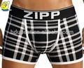 transparente sexy underwear mens com cós personalizado de design