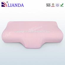 2014 Fashion Customized Memory Foam Sleeping Tube Pillow