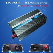 220V 50Hz grid tie inverter, 1000W solar grid connected inverter power, 12V solar panel
