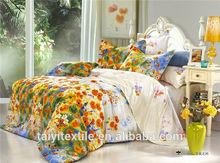 100% cotton /poly cotton ccomfortable bed set sheeting, duvet cover, pillow case