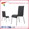 Best-seller de couro branco e perna de metal cadeiras em aço tubular