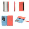 hot vender design de moda couro do plutônio tampa do telefone celular carteira caso para samsung note2 note3