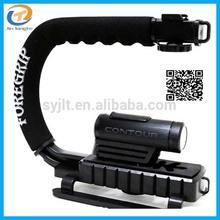 Portable Photography Steadicam C Shape Flash Camera Bracket Video Handheld Stabilizer Grip