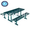 Estilo de américa del norte muebles de jardín, Exterior mesa de Picnic para parque, Moda y alta calidad mesa de Picnic mesa muebles de jardín