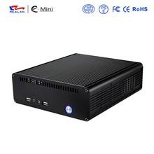 Square mini desktop computer case/pc case Realan E-K3