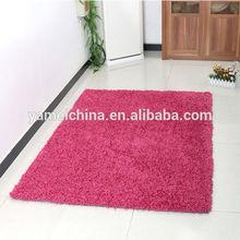 polyester pink living room carpet,gym floor mat