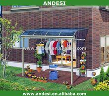 Policarbonato jardín canopy gazebo