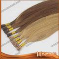 نوعية جيدة نمط جديد fashional 7a الصف عذراء بشرة الإنسان الايطالية ملحقات الكيراتين الشعر