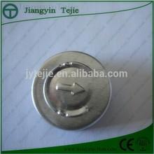 easy open aluminum cap