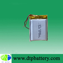 3.7v 1200mah polymer rechargeable battery with UL certification