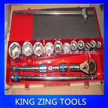 "17PCS 3/4"" hot selling socket kit.hand socket set/socket tool"