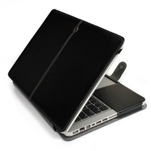 Hot New Products For 2014 PU Leather Case for Macbook Pro 13 F-MAC004