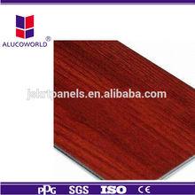 Alucoworld elegant texture walnut paneling