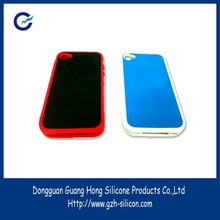 customized silicone silk screen printing cell phone covers made in Guangdong
