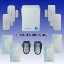Not Sim Card 868MHz Wireless Network home security Cloud IP Alarm System
