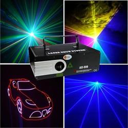 TOP disco laser light / animation 1w rgb laser