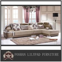 Germany cheap white 2013 new design modern living room corner sofa