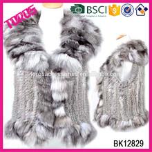 High Quality Winter Fashion Mix-color 100% Fur Lady Cape 2015 Poncho Women