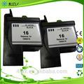 Fábrica de preços por atacado!! Lm16 para lexmark16 10n0016 black remanufactured impressora tintas