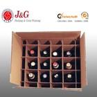 custom luxury bottle cardboard leather wine carrier box