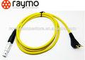 Poder/audio/electronicmedical cabo, conector do cabo