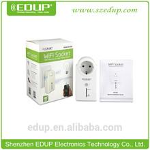 EDUP EP-3703 smart home automation wireless socket Control appliances via local Wifi network
