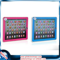 hot sell educational tablet y-pad voice english abc learning machine toys for kids ys2921c