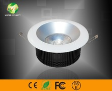 Inspired 35w recessed led downlight cob 3000lm for task lighting