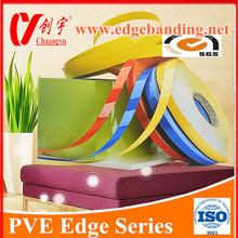 high gloss furniture fittings pvc edge banding / 2mm pvc edge banding