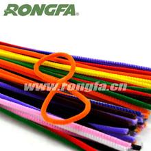 "12""x100pcs per bag Colorful General Plastic Craft Pipe Cleaners"