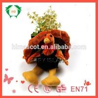 HI CE stuffed plush toy/turkey plush stuffed toy/plush toy