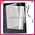 Wholesale Drawstring Nylon Mesh Laundry Bag