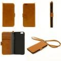 2014 recién llegado de diseño de cuero genuino equipado caja del teléfono de 5.5 pulgadas iPhon 6