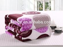 soft plush blanket custom printed flannel blanket factory China