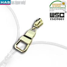 Wholesale gold zipper slider