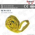 Alta calidad de poliéster de color amarillo web de elevación
