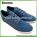 الصين صناعة 2014 تصميم جديد لأسعار الجملة قماش عارضة الأحذية حذاء الرجل المطاط الوحيد