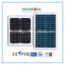 12v 20w solar panel/18v 20w solar panel/different voltage&current for customized design