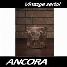 Vintage Steel Storage Trunk for Sale L801