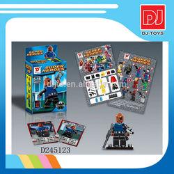Hot item plastic toys wholesale blocks super heroes minifigure