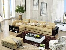 Guangzhou Canton fair 2014 new sofa 1+3+chaise +ottoman