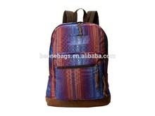 Travelling high school backpack/ shoulder bag men with organizer