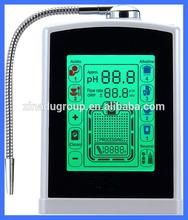 8 inch touch screen alkaline water ionizer machine for health water