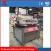 vertical type high quality flat precision screen printing machine