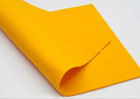 Needle punched nonwoven househould cleaning rags