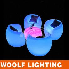 modern illuminated led cute chair WFS-S7000
