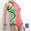 neoprene one piece cut out super stretch swimwear