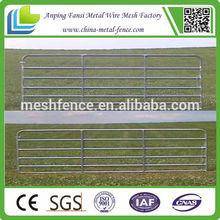 14 gauge steel outer rail filler bars are 18 gauge heavy duty steel gate