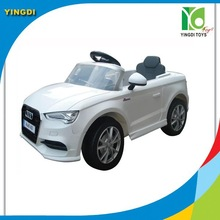 1:4 Licensed Audi A3 Battery Operated Ride on Car Toy Remote Control Electric Kids Ride On Car